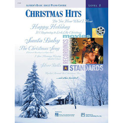 Alfred's Basic Adult Piano Course Christmas Hits, Book 2