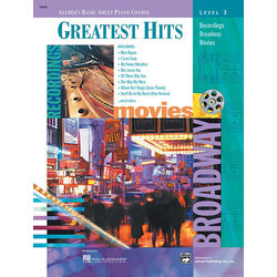 Alfred's Basic Adult Piano Course Greatest Hits, Book 3