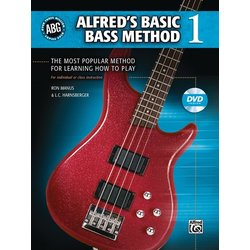 Alfred's Basic Bass Method 1 w/DVD