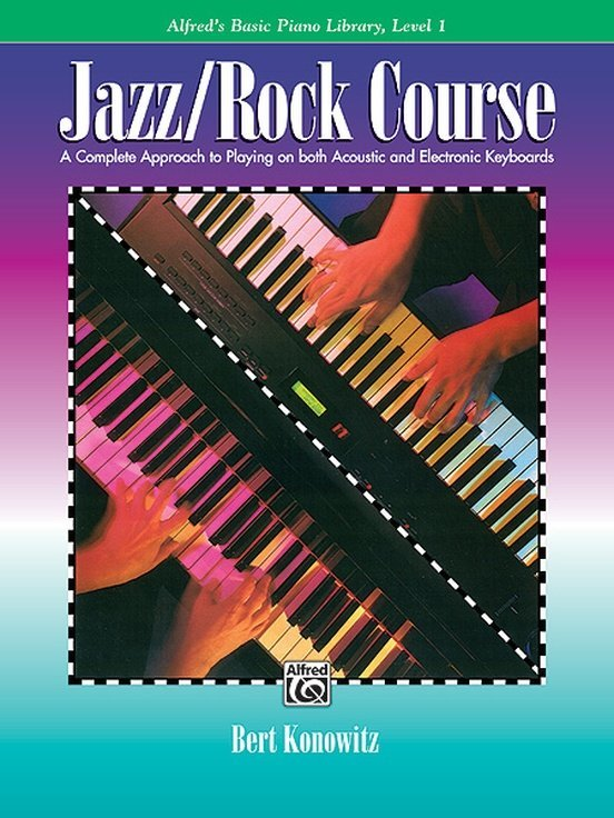 View larger image of Alfred's Basic Jazz/Rock Course: Lesson Book, Level 1