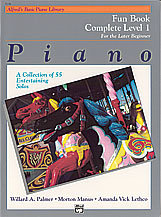 View larger image of Alfred's Basic Piano Library: Fun Book Complete 1 (1A/1B)
