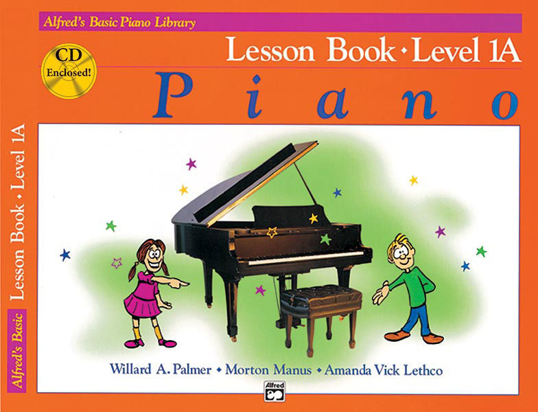View larger image of Alfred's Basic Piano Library: Lesson Book 1 w/CD