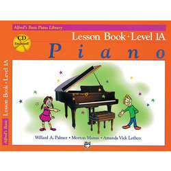 Alfred's Basic Piano Library: Lesson Book 1 w/CD