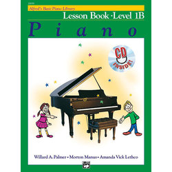 Alfred's Basic Piano Library: Lesson Book 1B w/CD