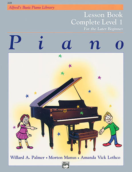 View larger image of Alfred's Basic Piano Library: Lesson Book Complete 1 (1A/1B)