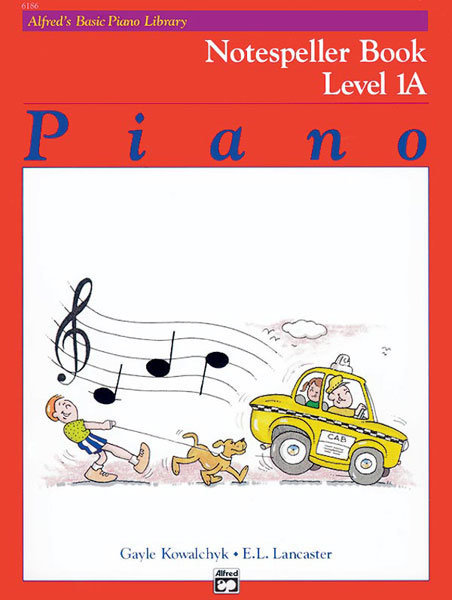 View larger image of Alfred's Basic Piano Library: Notespeller Book 1A