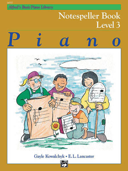 View larger image of Alfred's Basic Piano Library: Notespeller Book 3