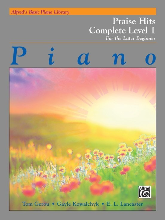 View larger image of Alfred's Basic Piano Library: Praise Hits Complete Level (1A/1B)
