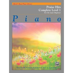 Alfred's Basic Piano Library: Praise Hits Complete Level (1A/1B)