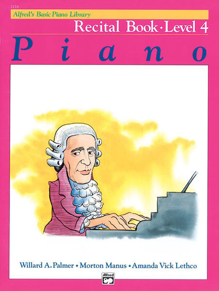 View larger image of Alfred's Basic Piano Library: Recital Book 4