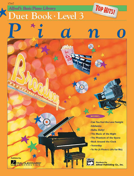 View larger image of Alfred's Basic Piano Library: Top Hits! Duet Book 3