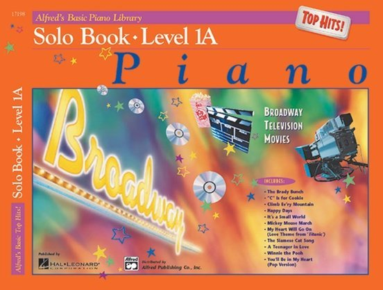 View larger image of Alfred's Basic Piano Library: Top Hits! Solo Book 1A w/CD