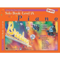 Alfred's Basic Piano Library: Top Hits! Solo Book 1A w/CD