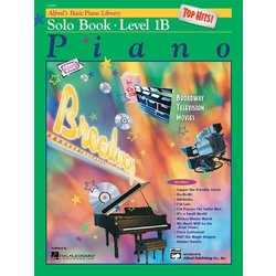 Alfred's Basic Piano Library: Top Hits! Solo Book 1B (Bk/CD)