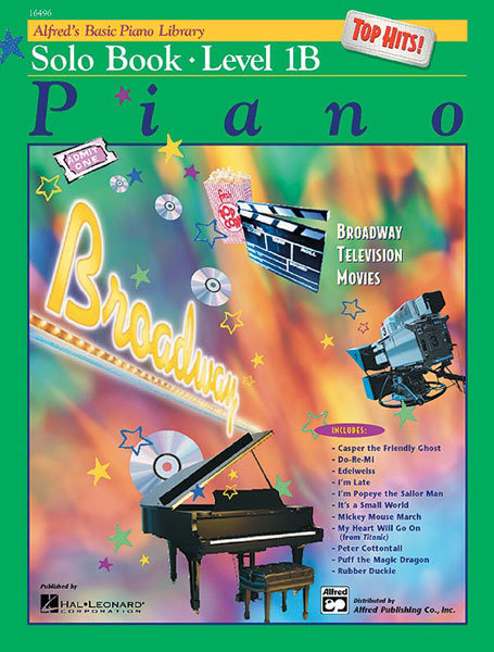 View larger image of Alfred's Basic Piano Library: Top Hits! Solo Book 1B