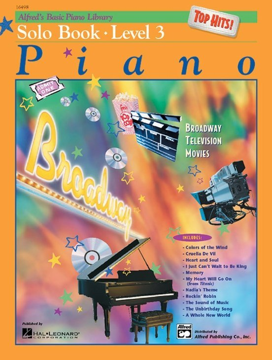 View larger image of Alfred's Basic Piano Library: Top Hits! Solo Book 3 w/CD