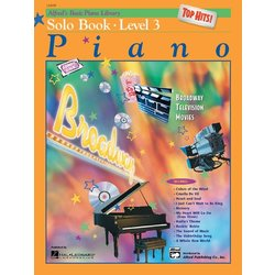 Alfred's Basic Piano Library: Top Hits! Solo Book 3 w/CD