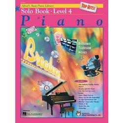 Alfred's Basic Piano Library: Top Hits! Solo Book 4 w/CD