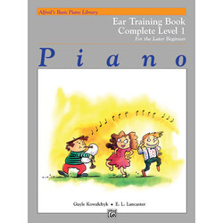 Alfred's Basic Piano Library: Ear Training Book Complete 1 (1A/1B)