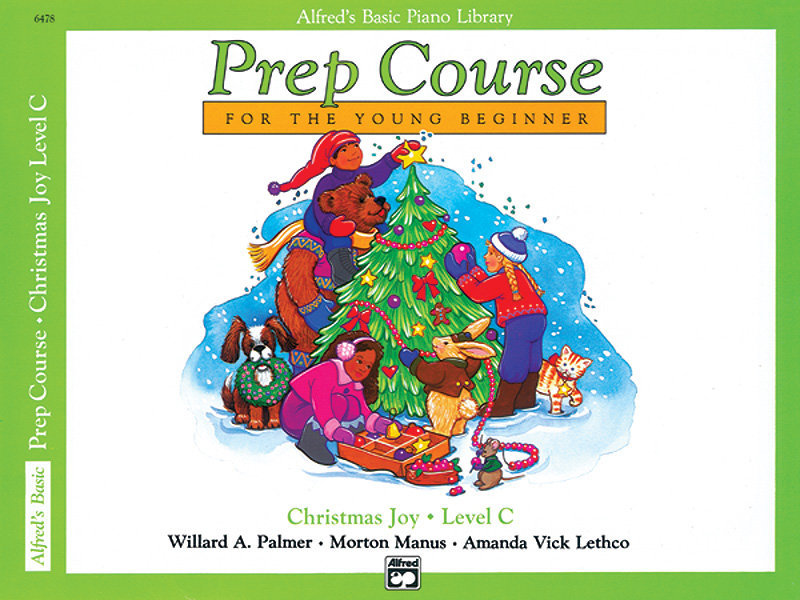 View larger image of Alfred's Basic Piano Prep Course: Christmas Joy! Book C