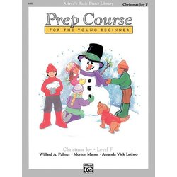 Alfred's Basic Piano Prep Course: Christmas Joy! Book F