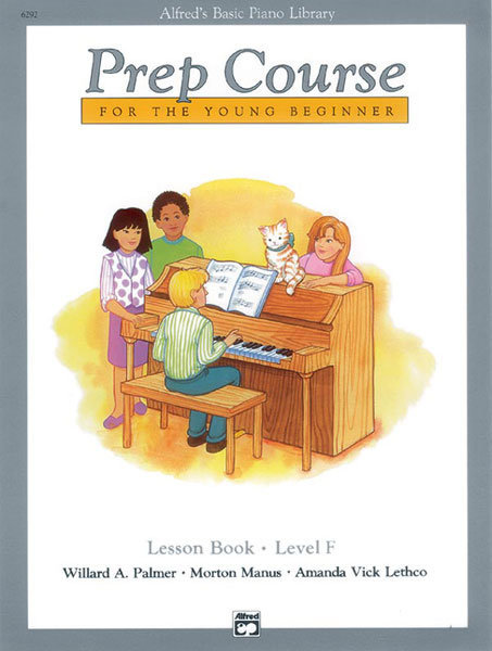 View larger image of Alfred's Basic Piano Prep Course: Lesson Book F