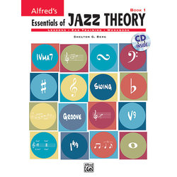 Alfred's Essentials of Jazz Theory, Book 1 w/CD