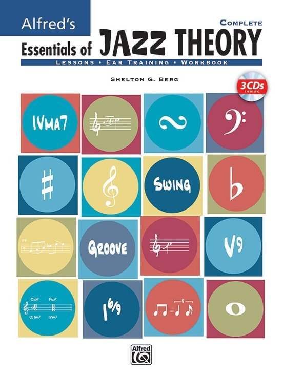 View larger image of Alfred's Essentials of Jazz Theory, Complete 1-3 w/3CDs