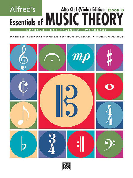 View larger image of Alfred's Essentials of Music Theory: Book 3 Alto Clef (Viola) Edition