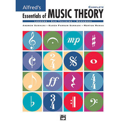 Alfred's Essentials of Music Theory: Complete w/2CDs