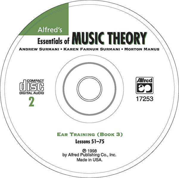 View larger image of Alfred's Essentials of Music Theory: Ear Training CD 2 (for Book 3)