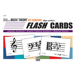 Alfred's Essentials of Music Theory: Flash Cards - Key Signature
