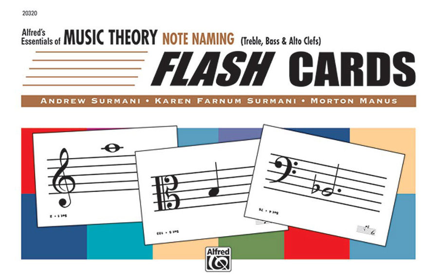 View larger image of Alfred's Essentials of Music Theory: Flash Cards - Note Naming