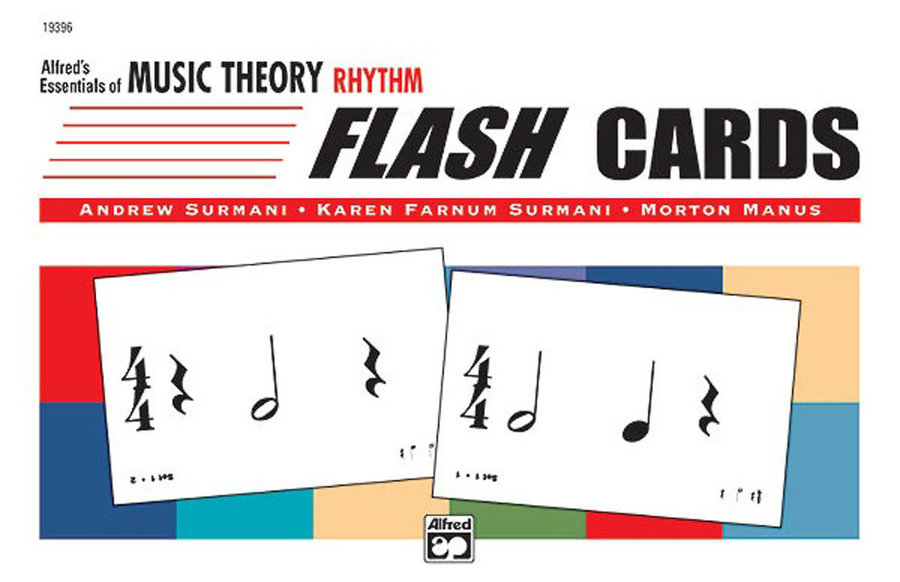 View larger image of Alfred's Essentials of Music Theory: Flash Cards - Rhythm