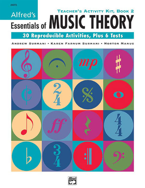 View larger image of Alfred's Essentials of Music Theory: Teacher's Activity Kit, Book 2