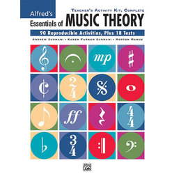 Alfred's Essentials of Music Theory: Teacher's Activity Kit, Complete