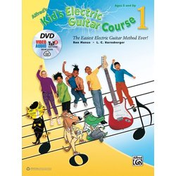 Alfred's Kid's Electric Guitar Course 1 w/DVD & Oniline Audio/Software