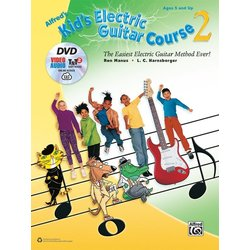 Alfred's Kid's Electric Guitar Course 2 w/DVD & Online Video/Audio/Software