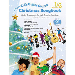 Alfred's Kid's Guitar Course Christmas Songbook 1 & 2 (Book & CD)