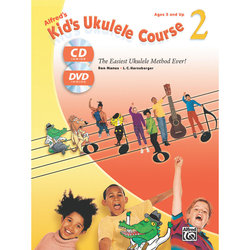 Alfred's Kid's Ukulele Course 2 with CD/DVD