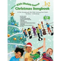 Alfred's Kid's Ukulele Course - Christmas Songbook 1 & 2 w/CD