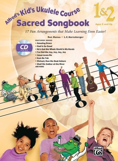 View larger image of Alfred's Kid's Ukulele Course Sacred Songbook 1 & 2 w/CD