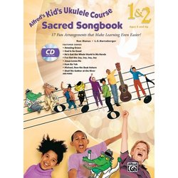 Alfred's Kid's Ukulele Course Sacred Songbook 1 & 2 w/CD
