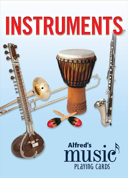 View larger image of Alfred's Music Playing Cards: Instruments