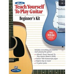 Alfred's Teach Yourself to Play Guitar - Beginners Kit