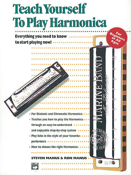 View larger image of Alfred's Teach Yourself to Play Harmonica w/Harmonica