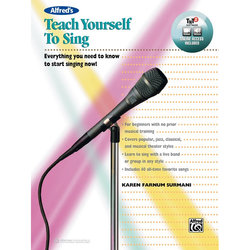 Alfred's Teach Yourself to Sing w/Online Video/Audio/Software