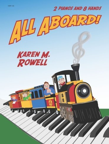 View larger image of All Aboard - Piano Duet (2P8H)