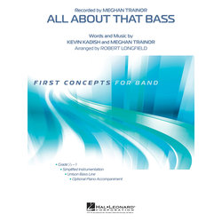 All About That Bass (Meghan Trainor) - Score & Parts, Grade 0.5