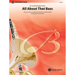 All About That Bass (Meghan Trainor) - Score & Parts, Grade 1